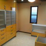 キッチン食器棚 施工完了